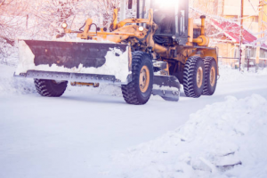 Commercial snow removal in Mississauga.