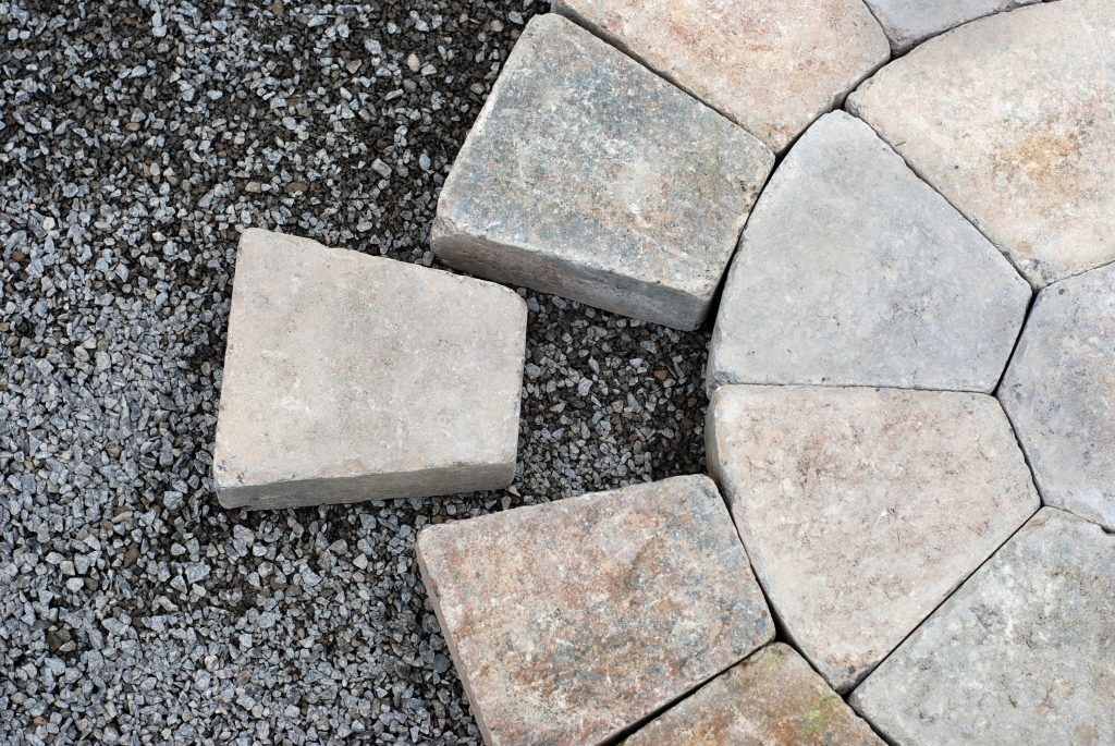 interlocking pavers installation