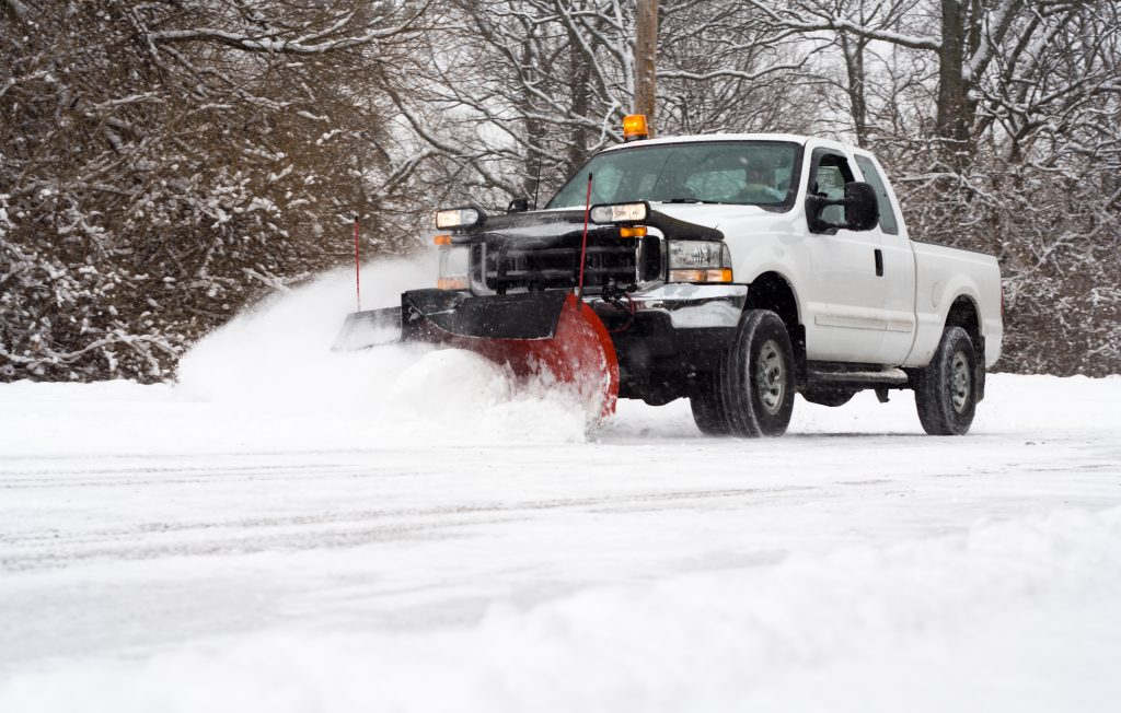 snow plowing removal services
